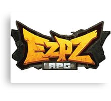 EZPZ rpg Logo Canvas Print