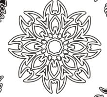 Protective Tribal Clock Sticker