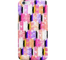Girly Colorful Funky Watercolor Pattern iPhone Case/Skin