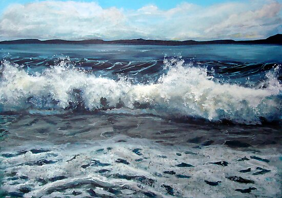 Wave by Carole Russell
