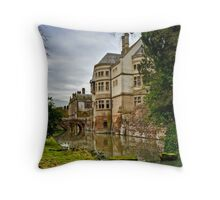 Coomb Abbey Throw Pillow