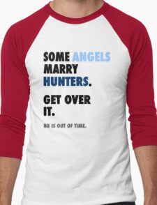 Supernatural - Some Angels Marry Hunters Men's Baseball ¾ T-Shirt