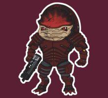 Mass Effect 3: Urdnot Wrex Chibi  T-Shirt