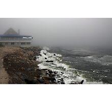 Storm at Narragansett Bay  Photographic Print
