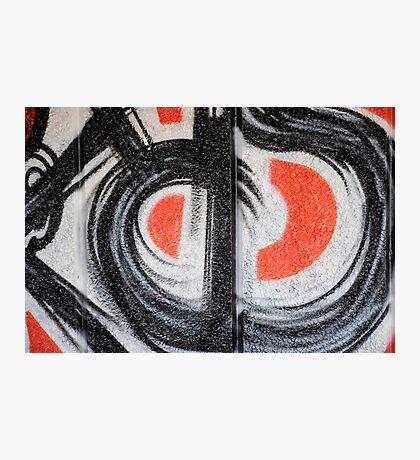Red and black Photographic Print