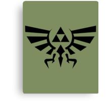 The Legend of Zelda - Hyrule Symbol Canvas Print