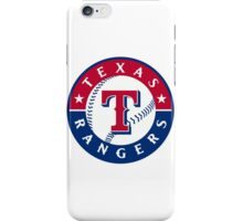 texas rangers iPhone Case/Skin