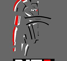 Mass Effect - Shepard N7 Symbol by TylerMellark