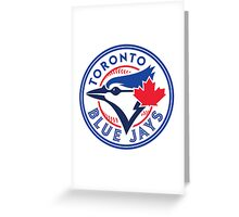 toronto blue jays Greeting Card