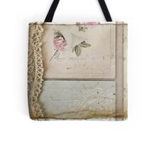 Papers and Lace Tote Bag