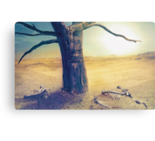 Middle of Nowhere Metal Print