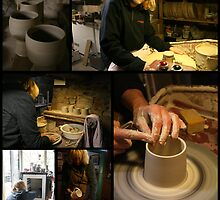 making pots by nyferates