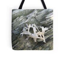 White Seaweed Tote Bag