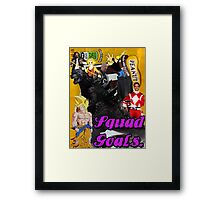 Squad Goals  Framed Print