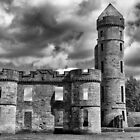 Eglington Castle Ruin by M.S. Photography/Art
