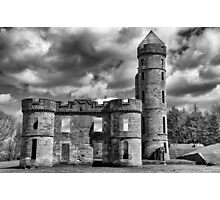 Eglington Castle Ruin Photographic Print