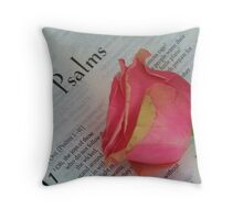 The Psalms Throw Pillow
