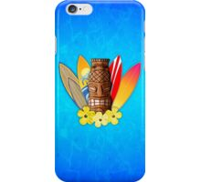 Surfboards And Tikis iPhone Case/Skin