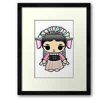 Mexican Doll Framed Print