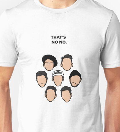 That's No No - Faces Unisex T-Shirt