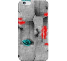 Vintage Face Pop Art iPhone Case/Skin