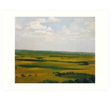 Kansas: View from Coronado Heights Art Print