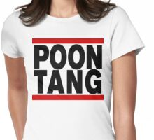 POONTANG Womens Fitted T-Shirt