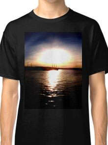 Silhouette Sunset Classic T-Shirt