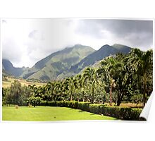 Maui's Tropical Plantation Poster