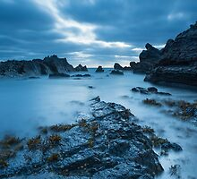 Hartland Quay at dusk by richardleah