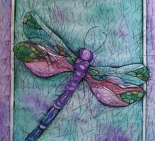 Dragonfly by barefootbard
