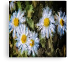 Pretty In Paint 4 Canvas Print
