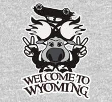 Tribal moose t-shirt by valizi