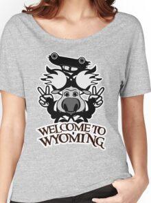 Tribal moose t-shirt Women's Relaxed Fit T-Shirt