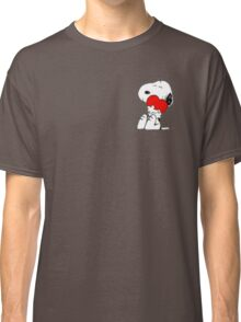 Snoopy lovely Classic T-Shirt