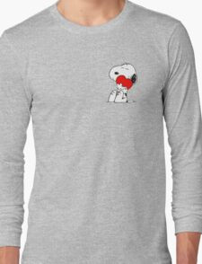 Snoopy lovely Long Sleeve T-Shirt
