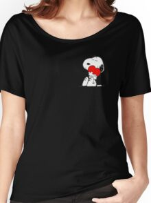 Snoopy lovely Women's Relaxed Fit T-Shirt