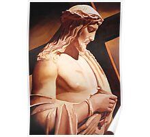 """""""The Passion"""" Watercolor Poster"""