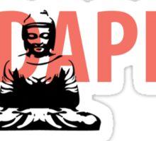 Budapest Buddha Pest  Sticker