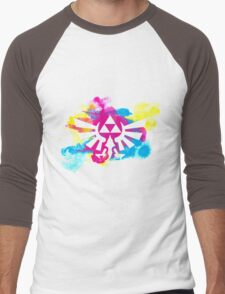 Watercolor Hyrule Men's Baseball ¾ T-Shirt