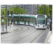 Paris public transport Poster