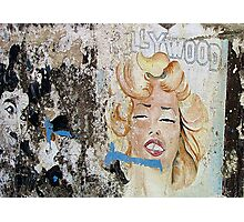 Hollywood on the harbour's walls Photographic Print