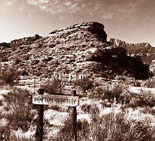 Grafton Cemetery Utah by David Lee Thompson