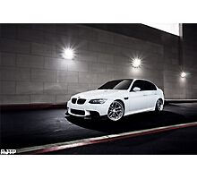 BMW E90 M3 Photographic Print