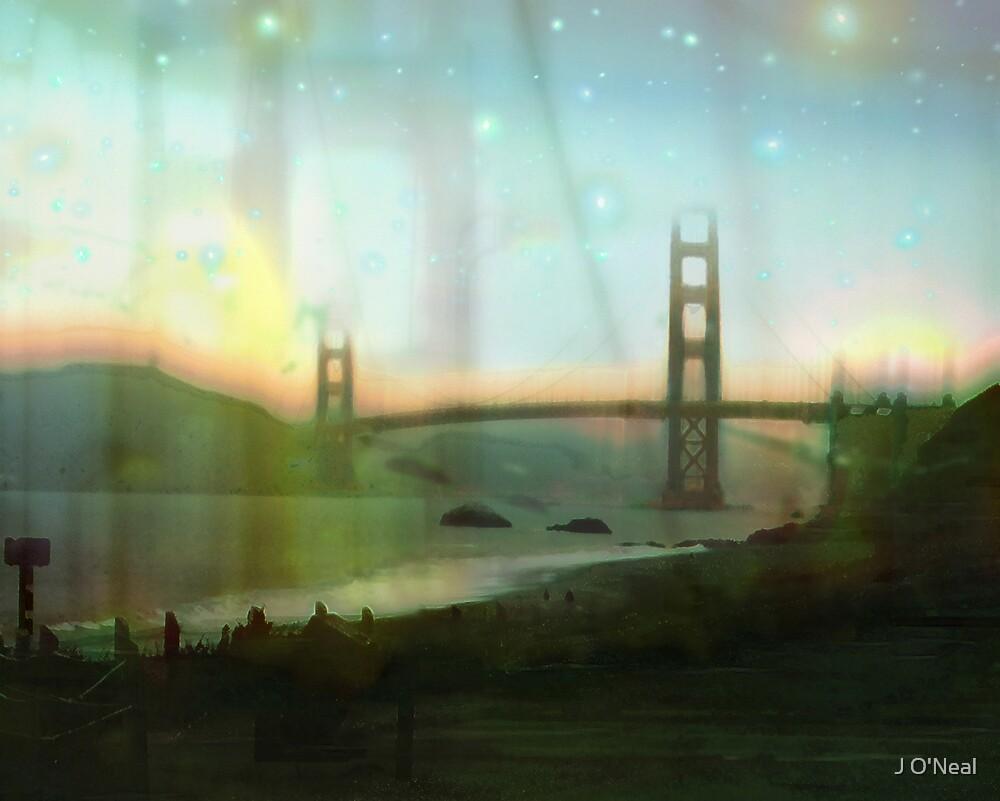 Golden Gate Bridge by J O'Neal