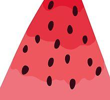 Watermelon illustration by msOctopus