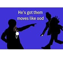 Moves Like Ood Photographic Print