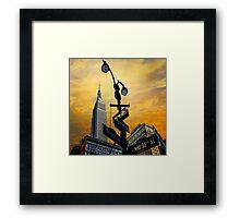 Midtown Sunset Framed Print