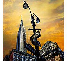 Midtown Sunset Photographic Print