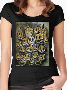 Pumpkins Women's Fitted Scoop T-Shirt